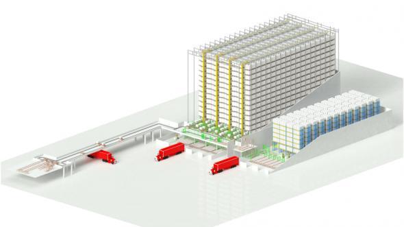 Jungheinrich bygger en automationslösning för Coca-Cola HBC vid företagets fabrik i Radzymin i Polen.