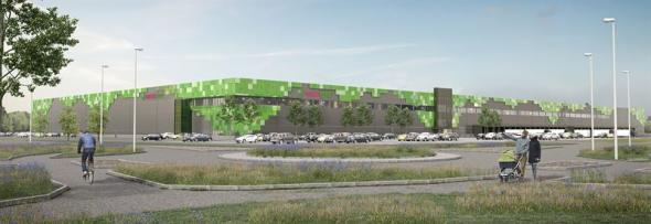 Det nya logistikprojekt i Helsingborg är fullt uthyrt till Greenfood (bilden är en illustration).