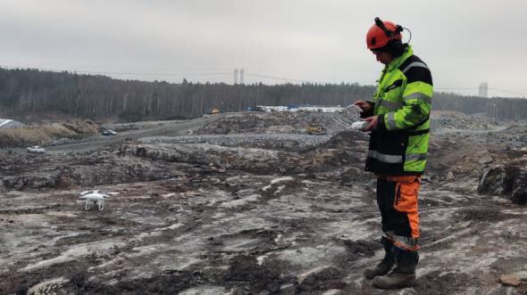 Det ger oss mycket bättre och mer detaljerad information än vi är vana vid och det är verkligen guld värt, säger Fredrik Ahlgren (bilden) som är arbetsledare för Kanonaden på Sörredsprojektet.