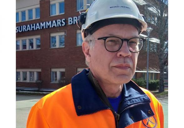 Magnus Lindenmo, Manager Technical Customer Support på Surahammars Bruk samt projektledare för E-STATE.