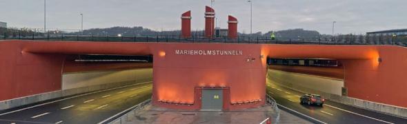 Marieholmstunneln.