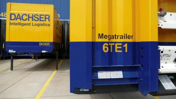 Successiv konvertering av semitrailers inom affärsområdet European Logistics optimerar kapacitetsutnyttjandet och minskar samtidigt transporternas klimatavtryck.