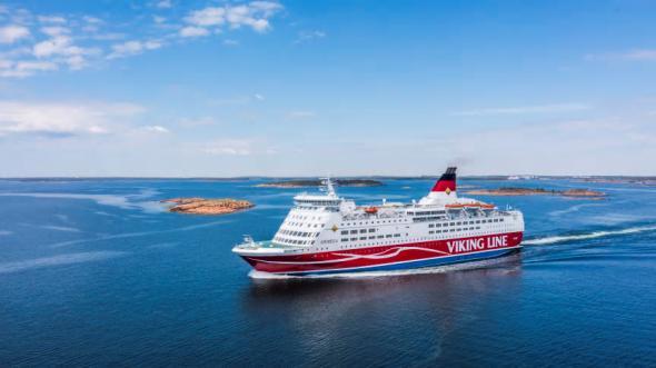 Besättningen på Viking Lines fartyg Amorella tilldelas idag priset Sea Sunday.