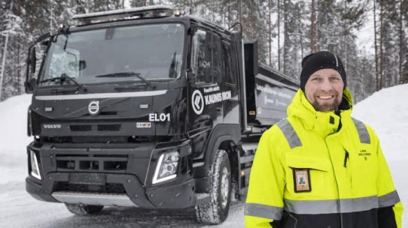 Lars Wallgren, logistikchef, Kaunis Iron.