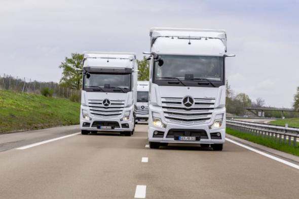 Från och med april går det att få sin Mercedes-Benz Actros med luftfjädrad 9-tons framaxel.